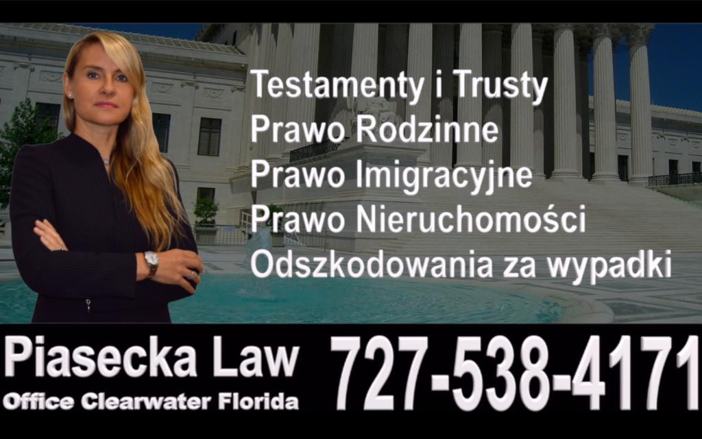 Florida, Polish, Attorney, Lawyer, Polski, Prawnik, Adwokat, Floryda, USA, Agnieszka Piasecka, Aga Piasecka, Piasecka